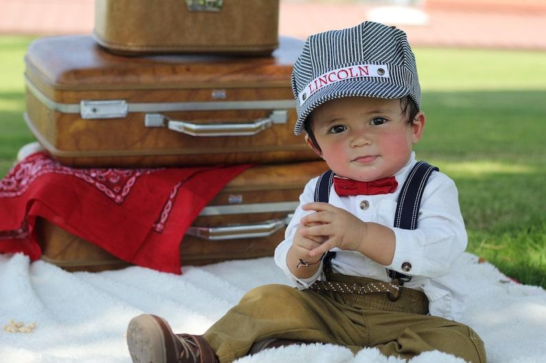 40602e2ad9e Conductor Hat Personalized Train Hat Personalized Hat Train