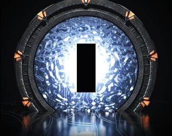 Stargate SG-1 Single Light Switch Plate Cover