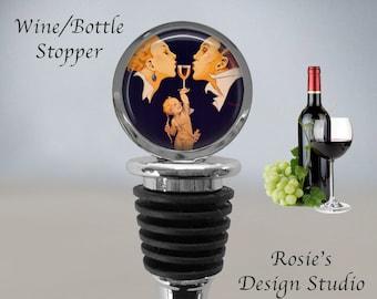 Custom Wedding Favor W0314STLV Grape Wine Stopper Wedding Gift Grapevine Wine Bottle Stopper