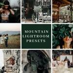 6 Lightroom Preset for Photographers - Mountain -  One Click Edit - Instant Digital Download. Bonus Item Included!