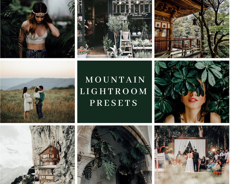 6 Lightroom Preset for Photographers  Mountain   One Click image 0