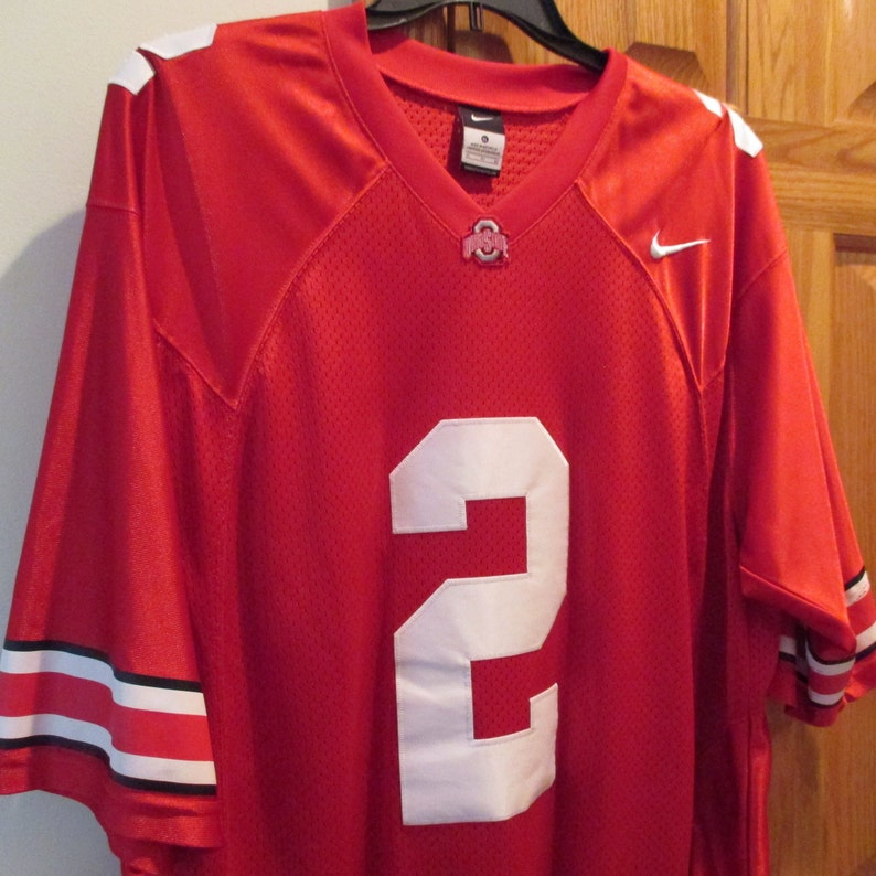 huge selection of 531f6 d4aa1 Vintage Buckeyes Ohio State Nike football jersey sewn on numbers, OSU  football jersey, OSU jersey XL, Ohio State fan, Ohio State #2 jersey
