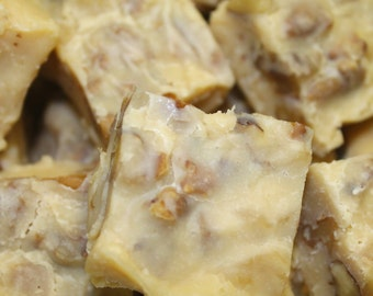 Walnut Maple Fudge, Homemade Fudge, Fudge by the Pound