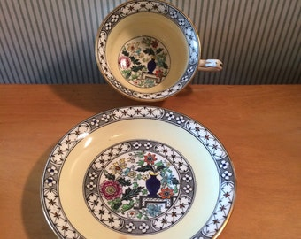 Vintage Coronet English Cup and Saucer