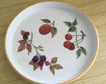Vintage Royal Worcester Evensham Flan Pan