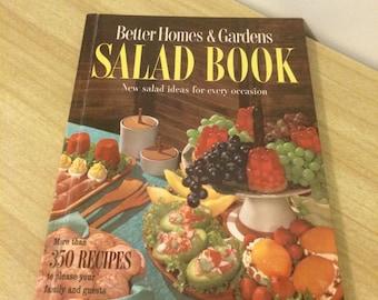 Vintage Mid-Century Better Homes and Gardens Salad Cookbook