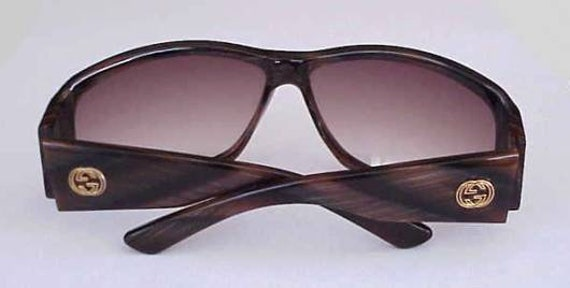 00cfc5001eb Magnificent Gucci Wrap Around Sunglasses with Huge Antique