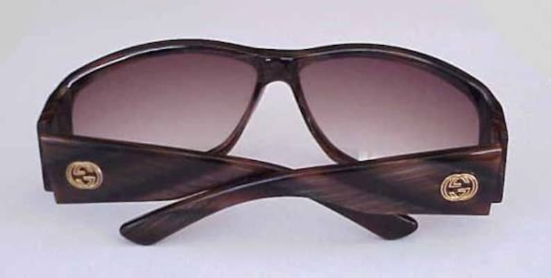 1f7b63b8fed2b Magnificent Gucci Wrap Around Sunglasses with Huge Antique