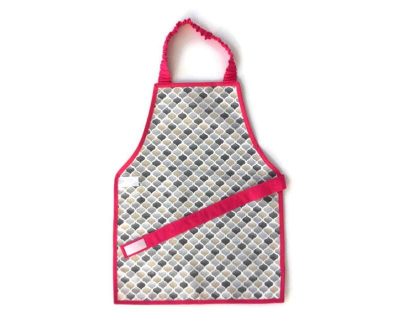 955c8f2aab4 1-12 Montessori apron hexagonals toddler child kid boy girl