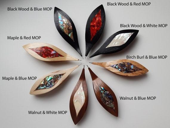 Wooden Tatting Shuttle handmade navette tatting tool