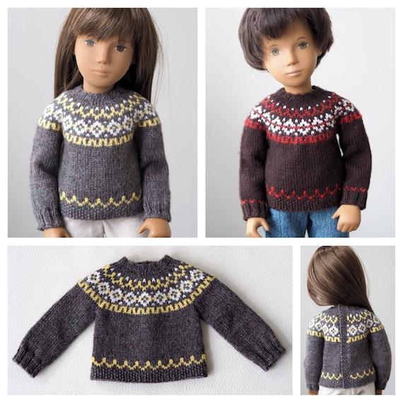 Humber River Icelandic Sweater Knitting Pattern For Sasha Etsy
