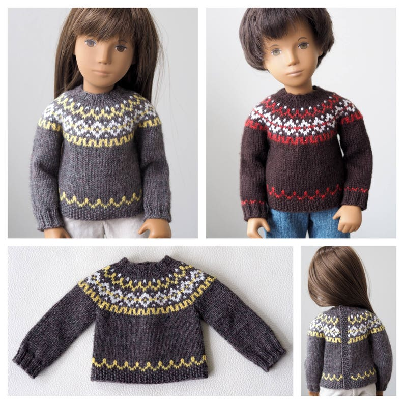 a4a8d93dca2a Humber River Icelandic Sweater Knitting Pattern for Sasha