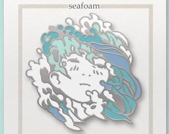 """PREORDERS Original Pin, """"Seafoam"""""""