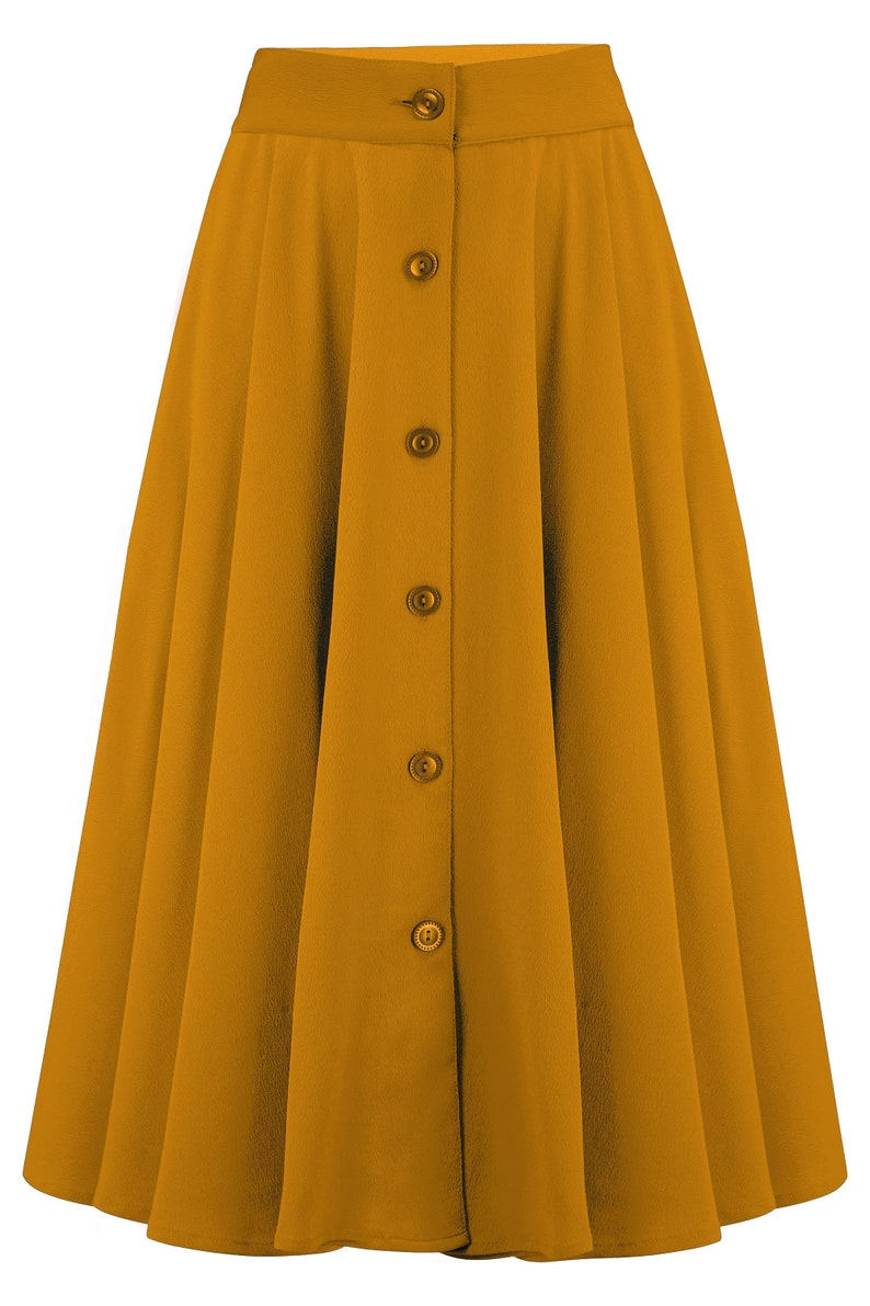 1940s Style Skirts- Vintage High Waisted Skirts     Read the full title    The Beverly