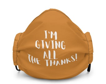 Thanksgiving Premium face mask
