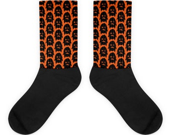 Halloween Socks. Cute Monster Socks. Halloween fun.