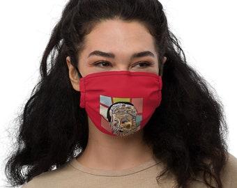 Santa Clause Unique Christmas Premium face mask