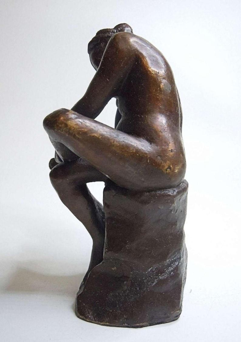 Jules Dalou Bronze Act Erotica Bathing Beauty