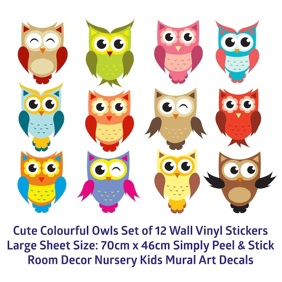 Star Wall Sticker Nursery Child Boy Girls Decal Kid Baby Art Bedroom 12 colours