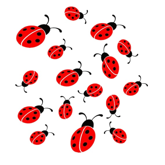 """FANTASTIC FUN STICKERS /"""" CUTE LADYBIRDS /"""" FOR CARDS /& CRAFT"""