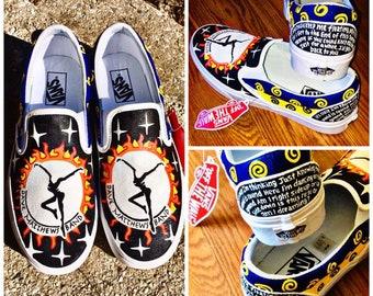 6535e8d17a3e Dave Matthews Band Custom Women s Shoes