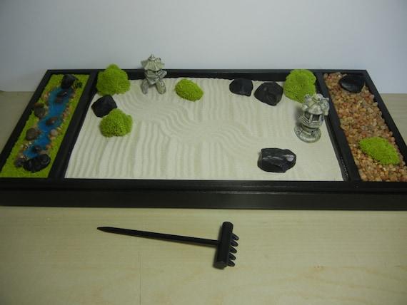 XL Deluxe Extra Large Zen Garden Includes Sand/Raking