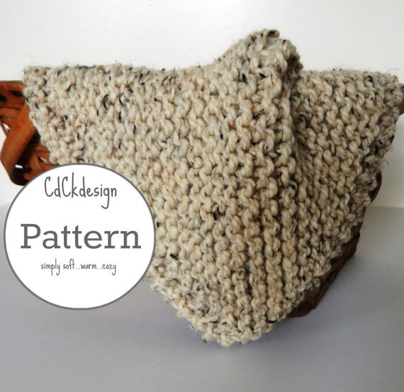 Knitting Pattern Chunky Knit Wool Baby Blanket Baby Throw Etsy