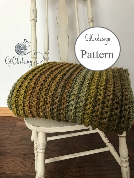Crochet Patternchunky Crochet Throw Blanketthe Flurryribbed Etsy