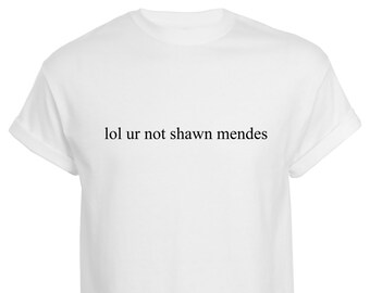 shawn mendes shirts for girls