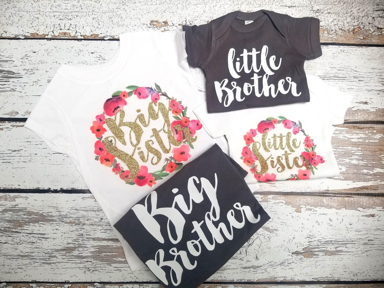 Big Sister Little Sister Shirts Etsy Anlis