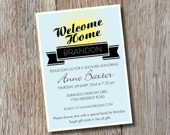 Printable | Welcome Home! Shower Invitation
