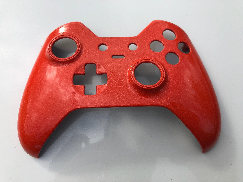 Custom Painted Metallic Orange Xbox One Elite Controller Shell Faceplate