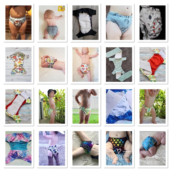 Lg Hipster Side Closure Cloth Diaper Trainer Pull Up Pdf Pattern The Happy Hippos Fits Approx 15 55lbs Ai2 Aio Fitted Pocket Cover