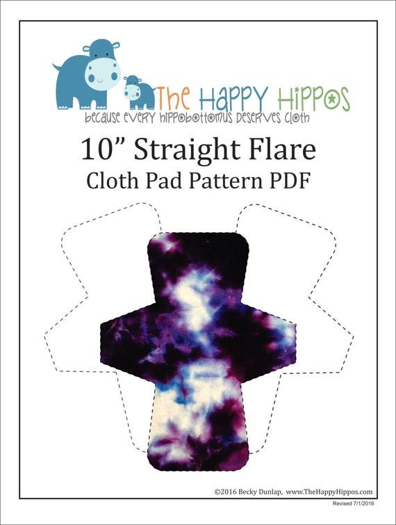 Die glücklich Flusspferde 10 PDF Tuch Pad Schnittmuster | Etsy