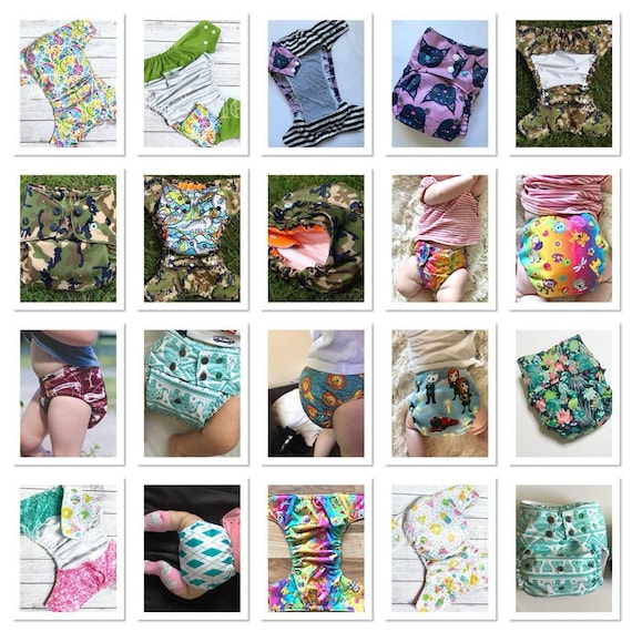 Flex Os Cover Set Cloth Diaper Set Pdf Pattern The Happy Hippos Fits Approximately 9 45lbs 2 Cover Patters With 3 Styles Each