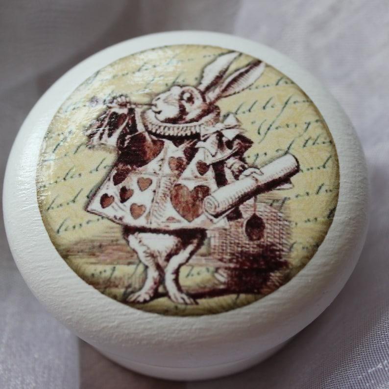Set Of Twelve 40mm4cm Alice Dresser Pulls Alice In Wonderland Drawer Knobs Alice Cupboard Knobs