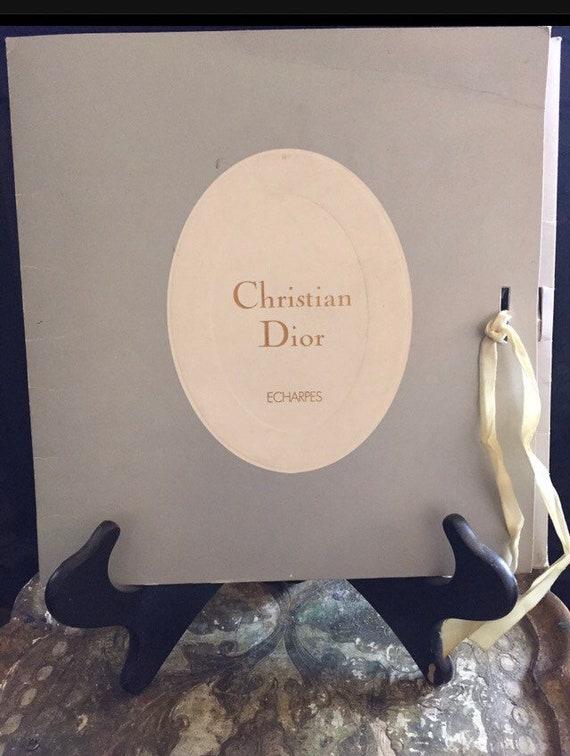 Christian Dior Vintage Silk Scarf 1950s Dior Squar