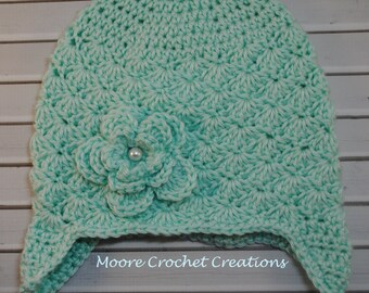 Girls Classy Crochet Hat