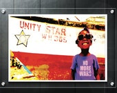 No More Wars -Unity Star - Jamaica Photography - Travel Art - Digital Prints - Black Art -Black Child Photography