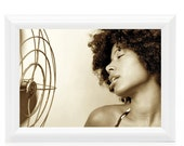 Beat the heat- Photographic Print - African American Art - Black Woman Photo - Beautiful Woman - Black Art - Black Woman Art