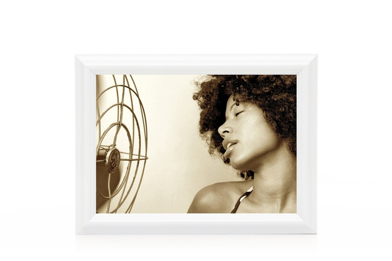Beat the heat Photographic  Print  African American Art  image 0