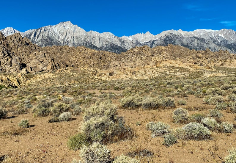 Alabama Hills  Eastern Sierra Mountains in the background image 0
