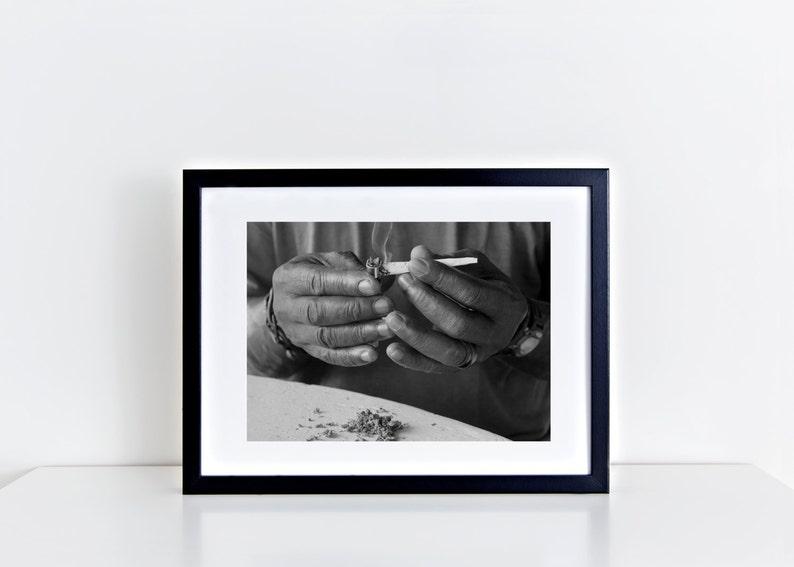 Jamaican spliff Print image 0