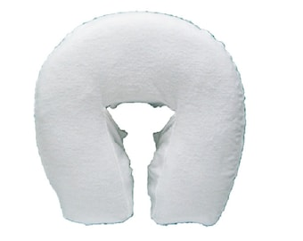 Seamless Massage Face Cradle Cover - Boiance Style Cotton Flannel Massage Face Pad Cover  -  Shipping Included