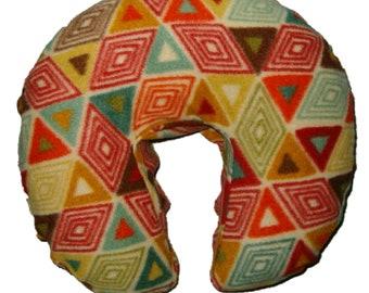 Oakworks AeroCel Style Fleece Massage Face Pad Cover  - Retro Geometric Print