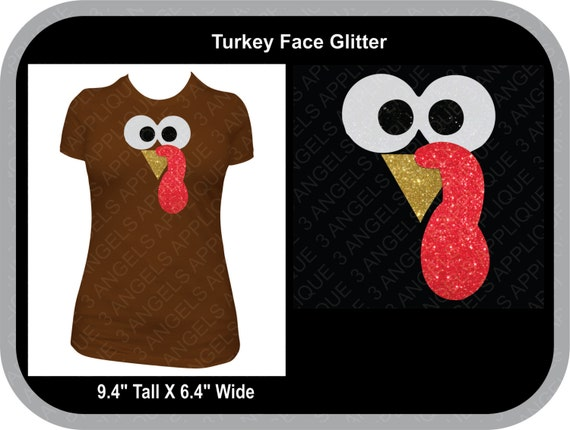 Turkey Face Svg Cutter Design Instant Download Etsy
