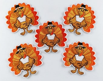 Haunted Thanksgiving Embroidered Patch
