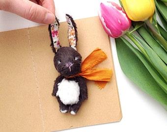 PDF Pattern artist teddy bear Bunny 2.4 in (6 cm)