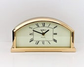 Howard Miller Westminster Chime Clock, Solid Brass 4RH653, True Elegance, Excellent Condition, 7.5 W. 4 H. Japan. Free US Shipping.