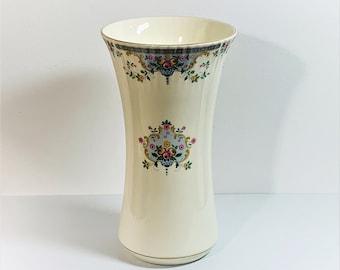 "Royal Doulton England 1981 Juliet H5077 - 9"" Tall Vase,  English Fine Bone China, Unique Texture - Pattern & Colors, Top Grade Condition."